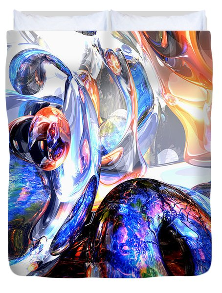 Essence Of Inspiration Abstract Duvet Cover