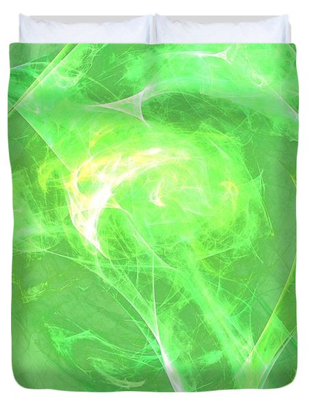 Duvet Cover featuring the digital art Ethereal by Kim Sy Ok