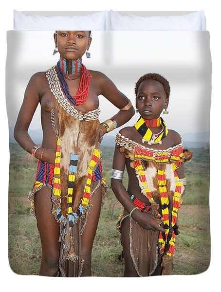 Ethiopia-south Sisters Duvet Cover