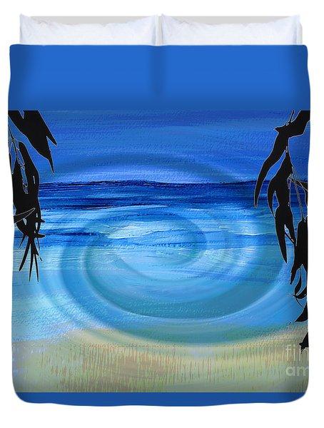 Eucalyptus Ocean View Duvet Cover