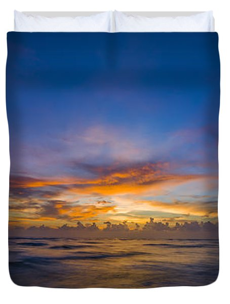 Evening Colors Duvet Cover