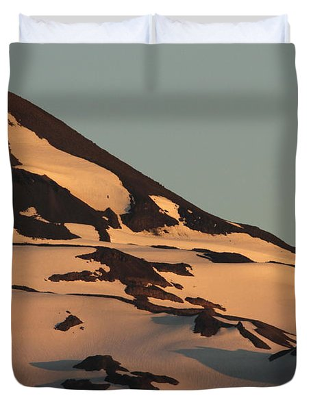 Evening Into Night Duvet Cover by Laddie Halupa