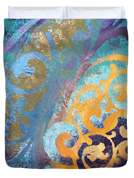 Evening Light Duvet Cover by Reina Cottier