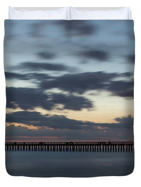 Evening Magic Duvet Cover by Nick  Shirghio