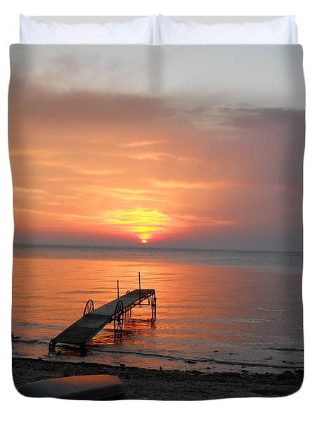 Evening Rest Duvet Cover