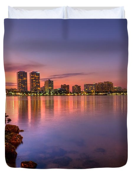 Evening Warmth Duvet Cover