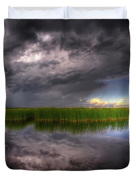 Everglades Reflection Duvet Cover
