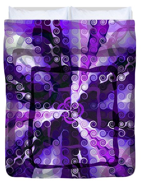 Evolve 3 Duvet Cover by Angelina Vick