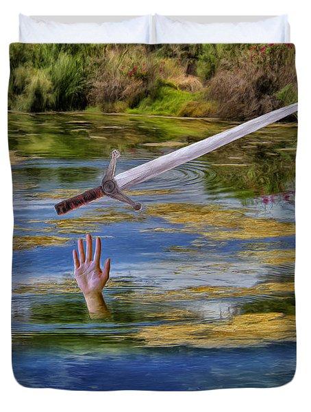 Excalibur Duvet Cover by Dominic Piperata
