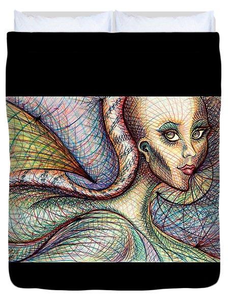Exposed Duvet Cover by Danielle R T Haney