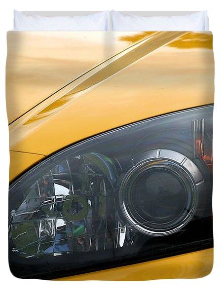 Eye Of A Car Duvet Cover