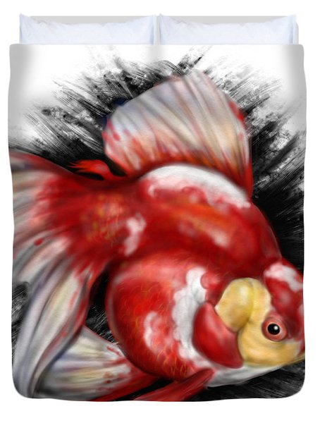 F Ck Nemo Duvet Cover by Pete Tapang
