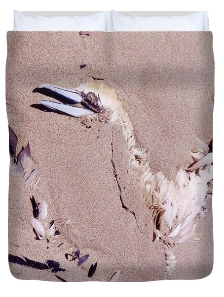 Fading Away Duvet Cover by John Malone