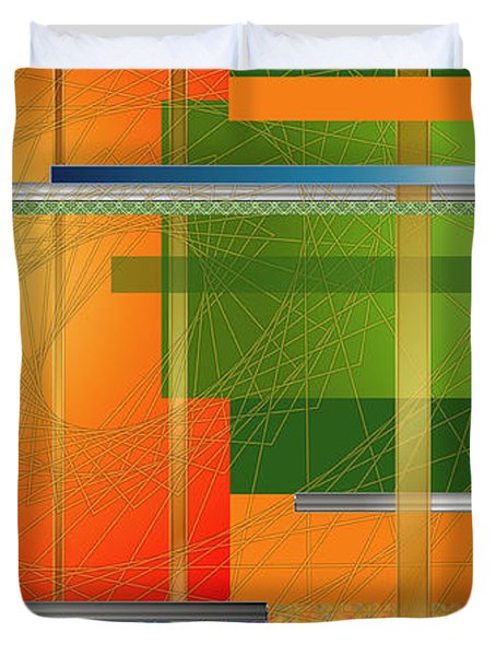 Failing Perspective Limited Edition Duvet Cover by Robin Lewis