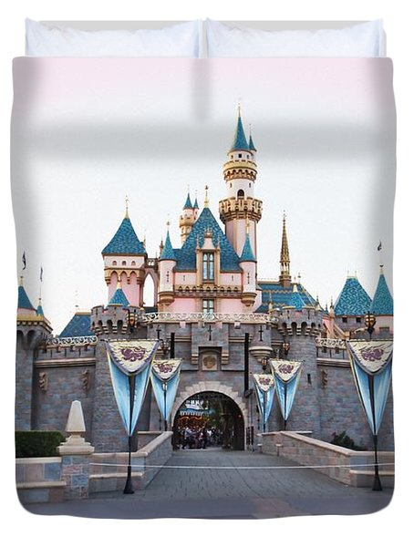 Fairytale Castle Duvet Cover by Heidi Smith