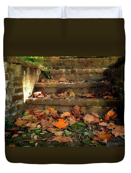 Fall Duvet Cover by Brian Hughes