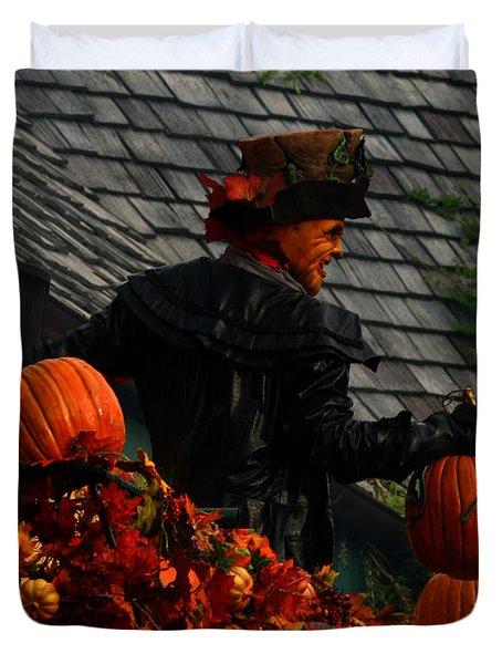 Fall Celebration Duvet Cover