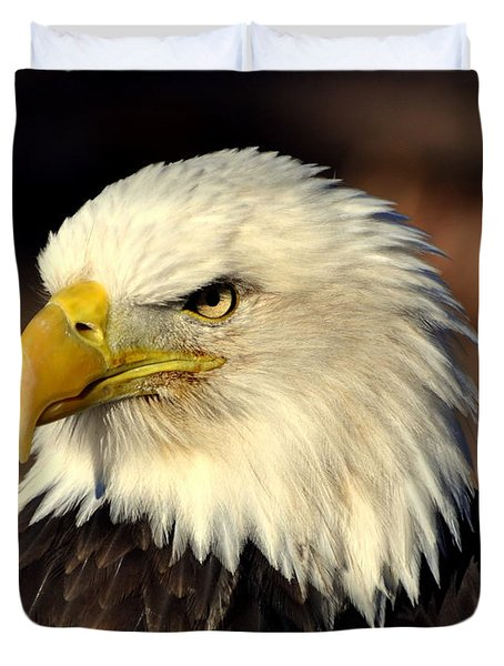 Fall Eagle 4 Duvet Cover by Marty Koch