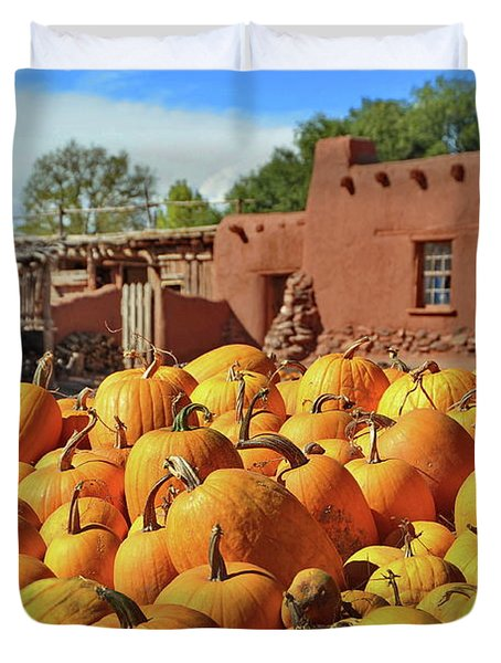 Fall Harvest Duvet Cover