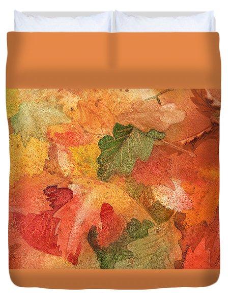 Fall Impressions II Duvet Cover by Irina Sztukowski