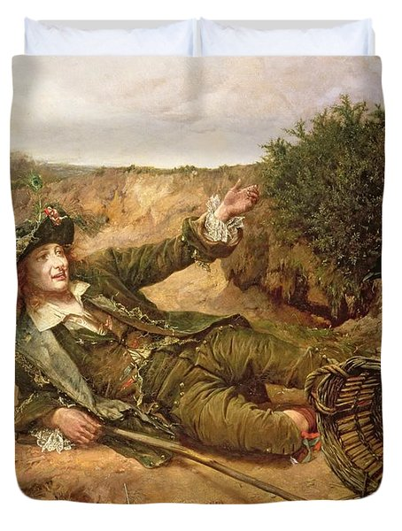 Fallen By The Wayside Duvet Cover by Edgar Bundy