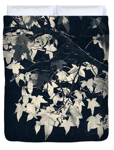 Falling Stars Duvet Cover by Laurie Search
