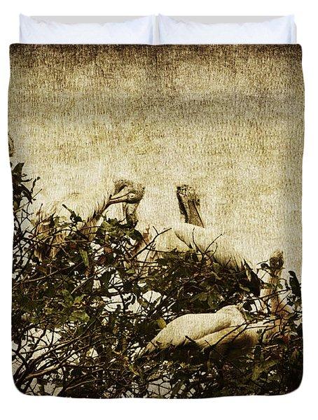 Family Tree Duvet Cover by Andrew Paranavitana