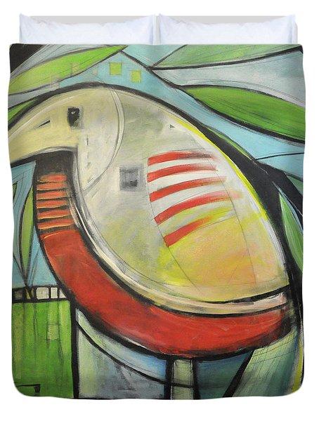 Fancy Bird Duvet Cover by Tim Nyberg