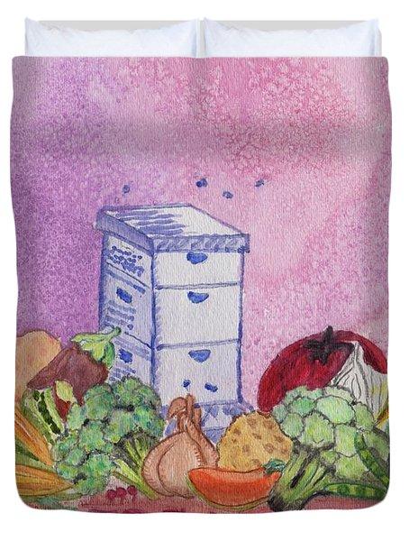 Farmers Market No.3 Duvet Cover