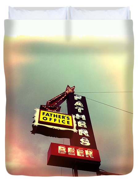 Father's Office Duvet Cover by Nina Prommer