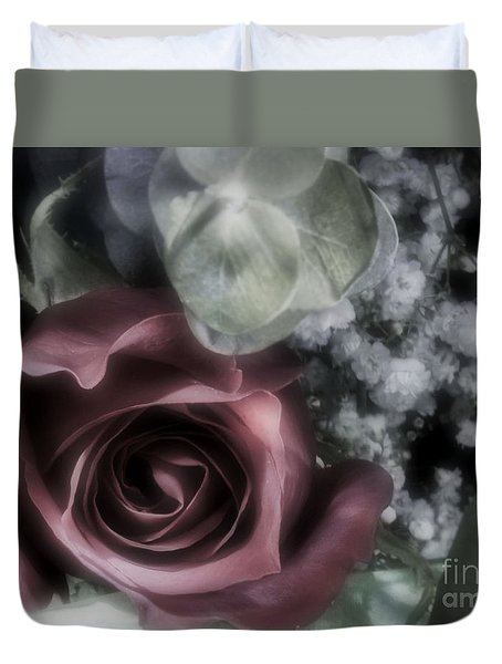 Duvet Cover featuring the photograph Feel My Breath by Janie Johnson