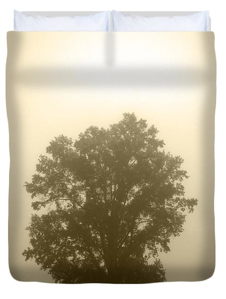 Feeling Small 2 Duvet Cover by Amanda Barcon