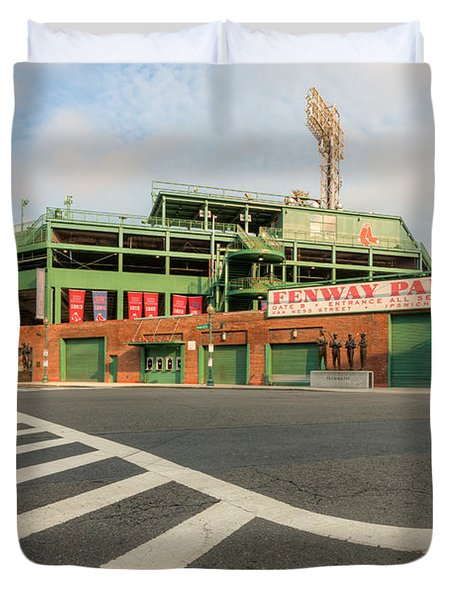 Fenway Park II Duvet Cover by Clarence Holmes