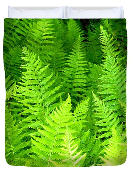 Ferns Galore Filtered Duvet Cover
