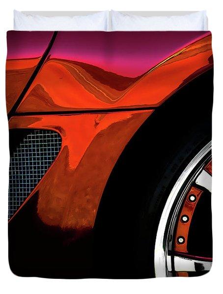 Ferrari Wheel Detail Duvet Cover