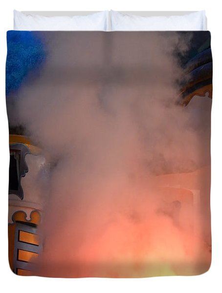 Fiery Entrance Duvet Cover