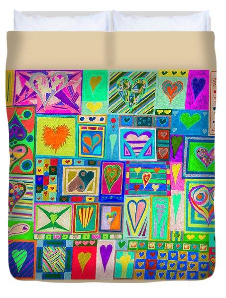find U'r Love found    v14 Duvet Cover