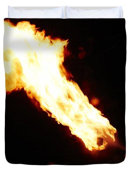 Fire Axe Duvet Cover
