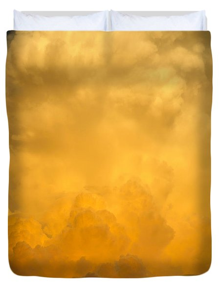 Fire In The Sky Fsp Duvet Cover