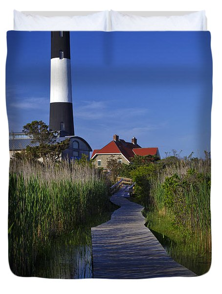 Fire Island Reflection Duvet Cover