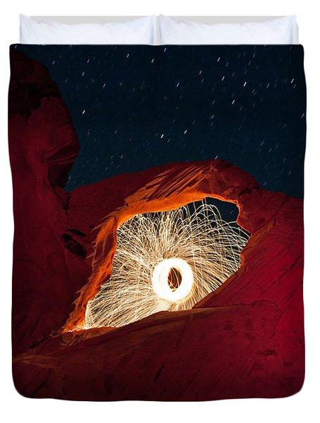 Firearch Duvet Cover