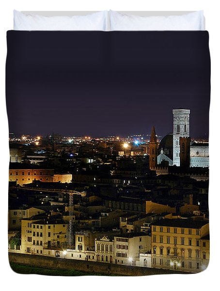 Firenze Skyline Duvet Cover