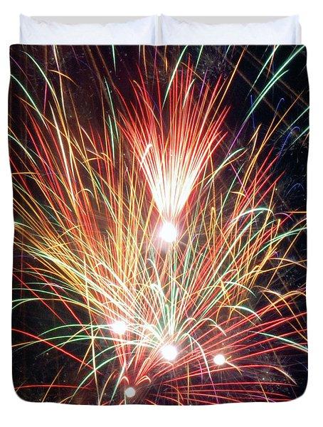 Fireworks One Duvet Cover