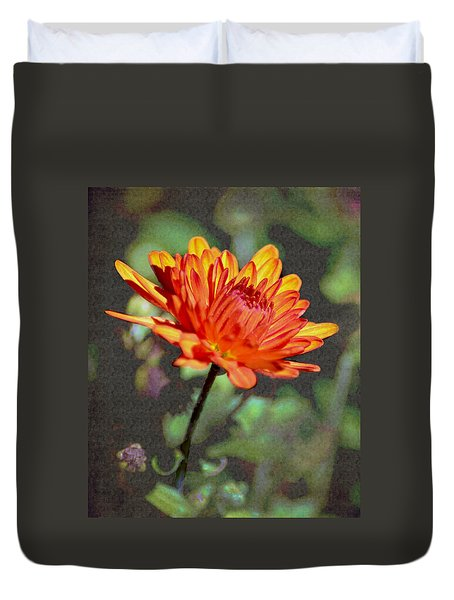 First Mum For Fall Duvet Cover by Sandi OReilly