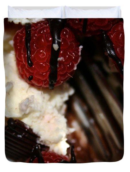 First Taste Duvet Cover by Susan Herber
