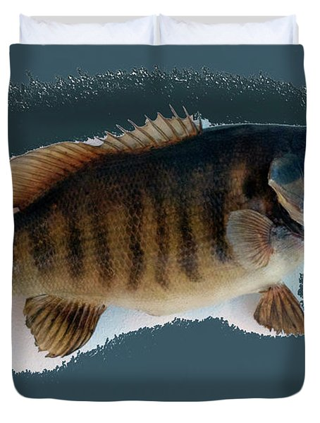 Fish Mount Set 10 B Duvet Cover by Thomas Woolworth