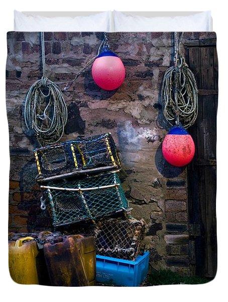 Fishermans Supplies Duvet Cover by John Short
