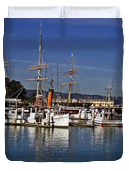 Fisherman's Wharf Duvet Cover