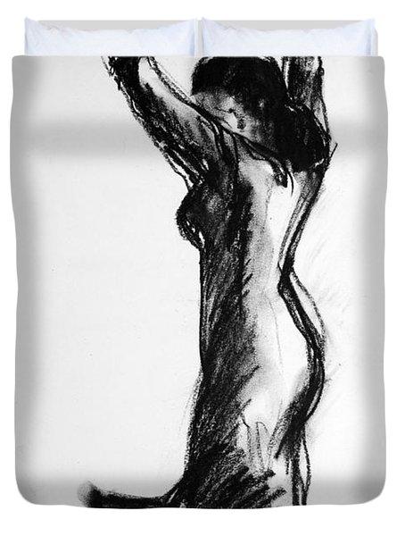 Flamenco Sketch 3 Duvet Cover