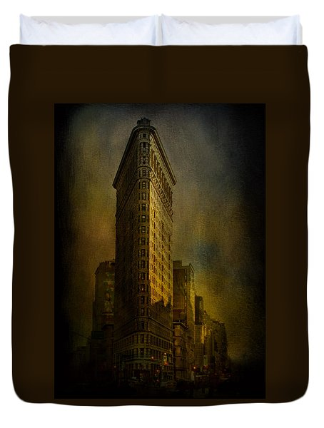 Flatiron Building...my View..revised Duvet Cover